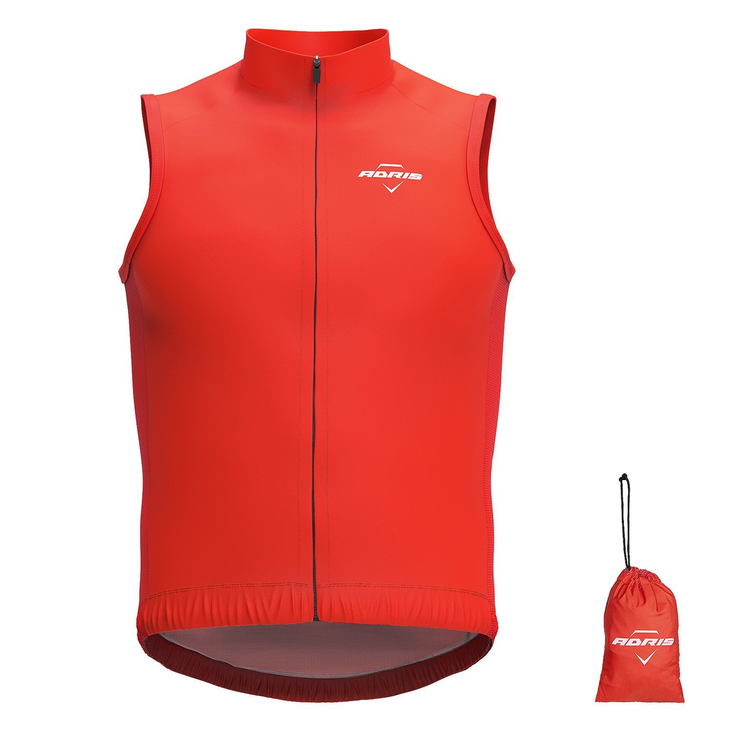 GILET ADRIS LIGHT WIND RED