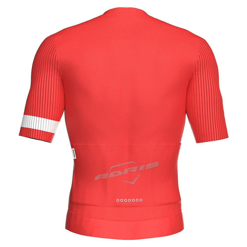 MAILLOT MANCHES COURTES TEAMLINE RED